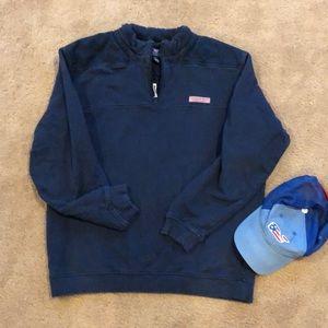Navy Blue Vineyard Vine Shep Shirt!